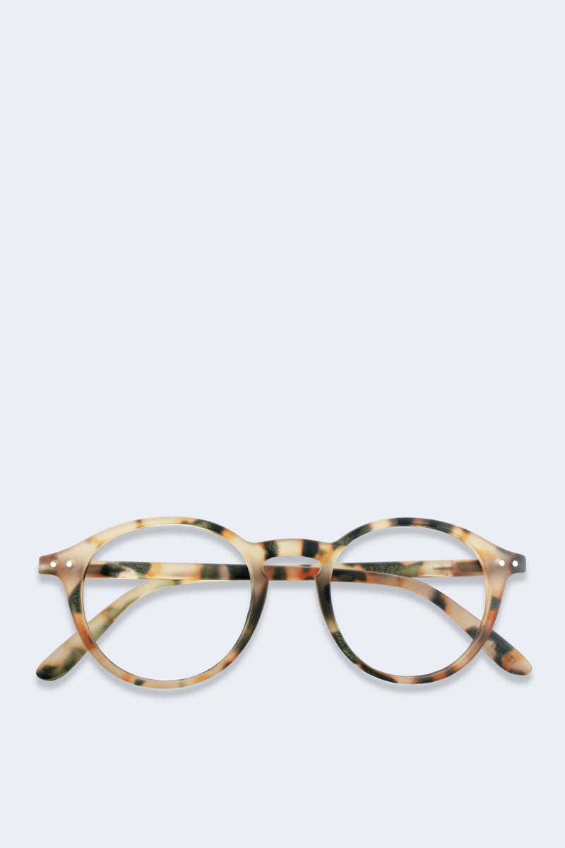 Reading Glasses #D Light Tortoise