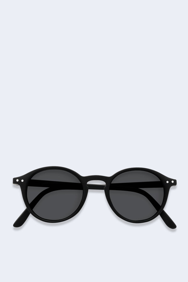 Sunglasses #D Black Soft Grey Lenses