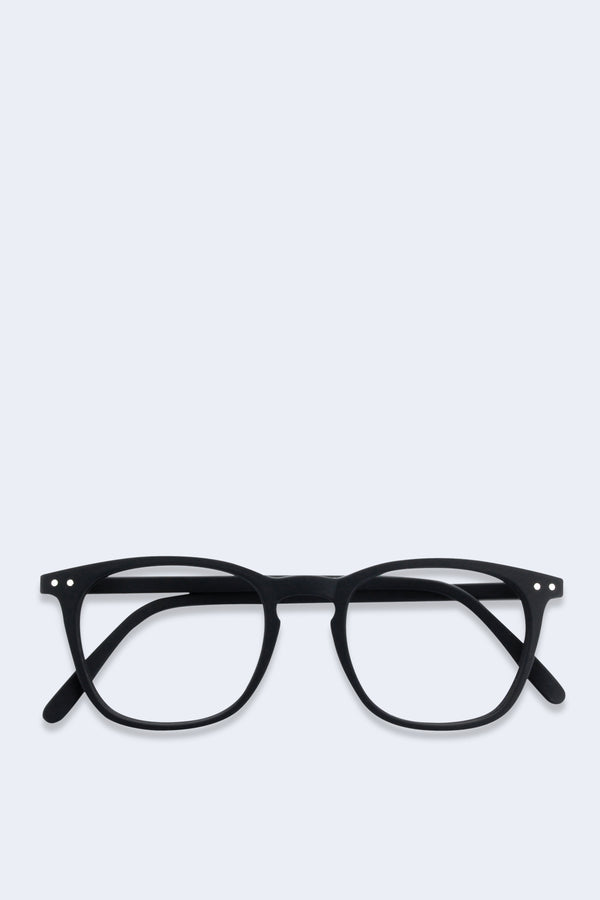Reading Glasses #E Black Soft