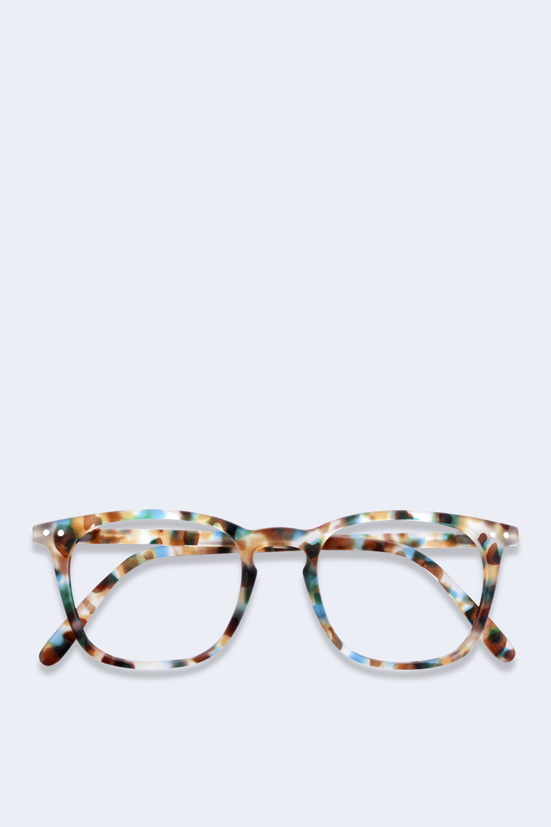 Reading Glasses #E Blue Tortoise Soft