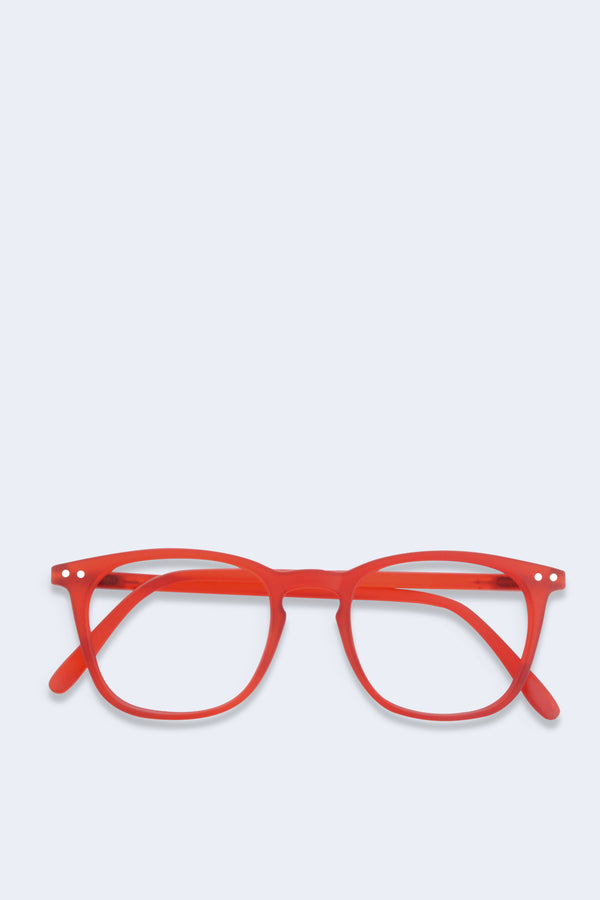 Reading Glasses #E Red Crystal Soft