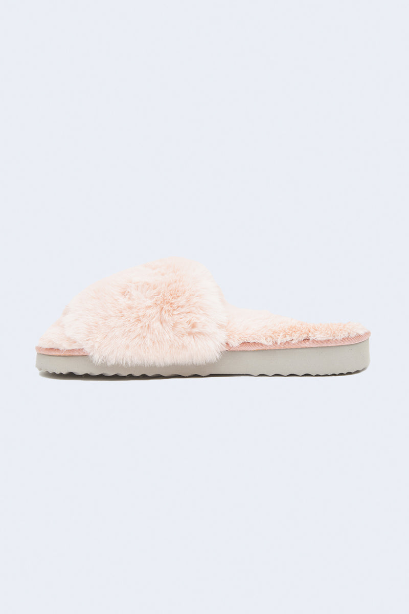Jasmine Slippers in Blush