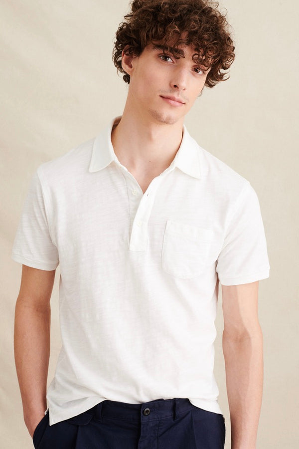 Men's Standard Polo in White