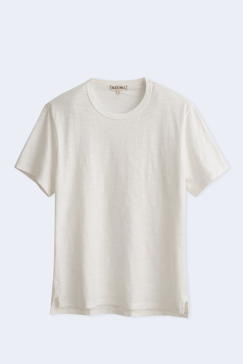 Men's Standard Slub Cotton Tee in White