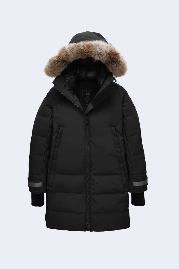 Women's Black Label Kenton Parka in Black