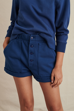 Women's Lakeside Shorts in French Navy