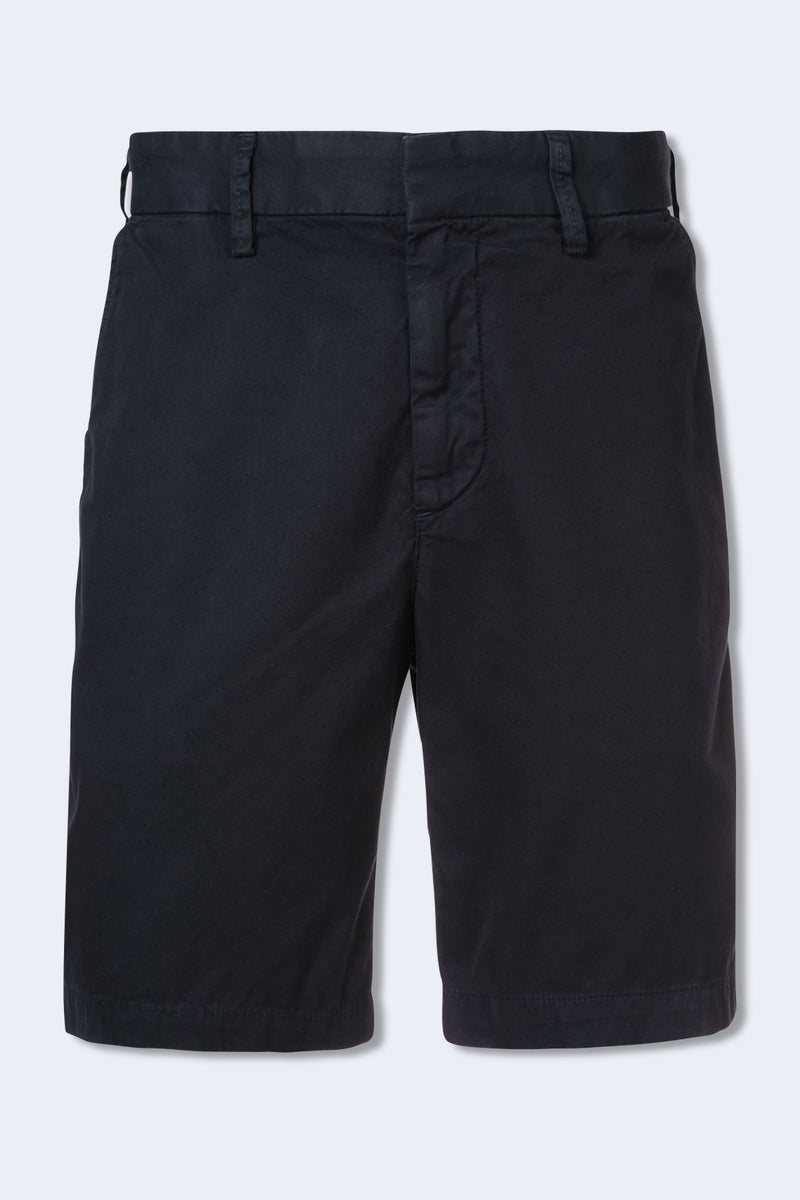 Light Twill Bermuda Short in Navy