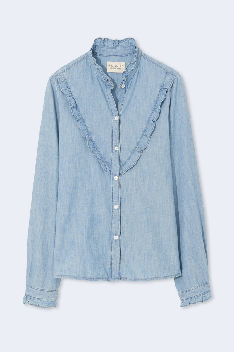 Marcela Shirt in Chambray