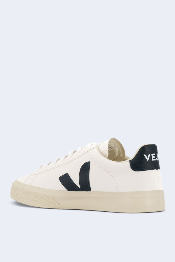 Men's Campo Extra Sneaker in White Nautico