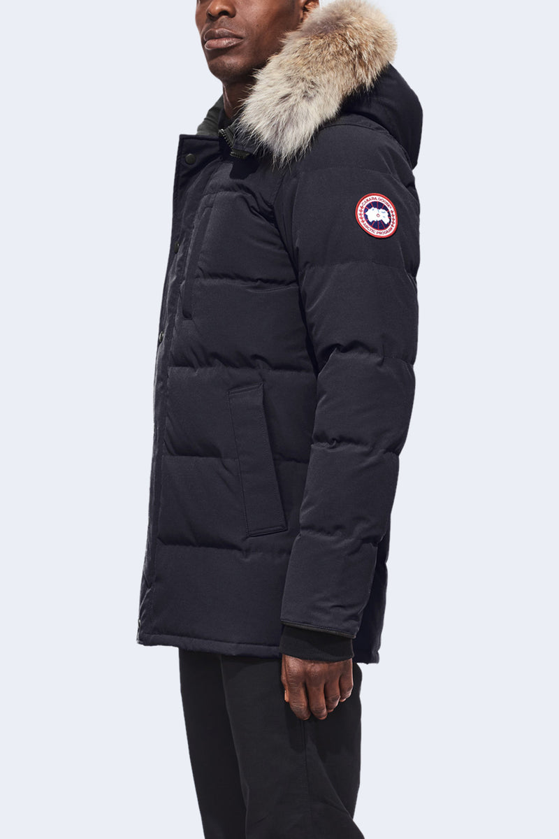 Men's Carsons Parka in Navy Marine