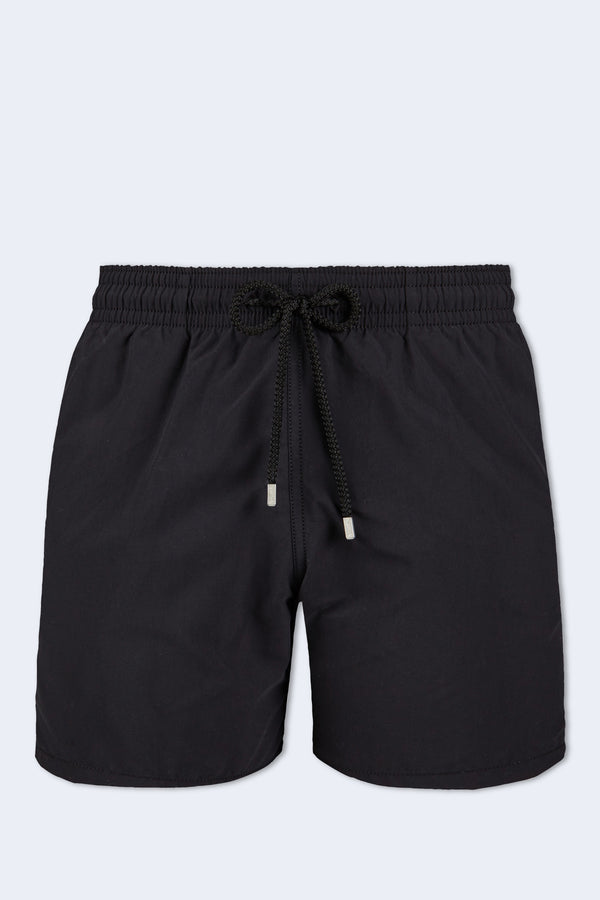 Moorea Dark Swim Short in Noir