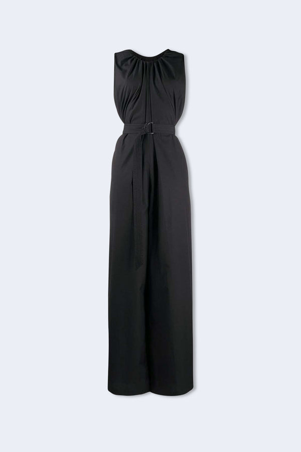 Oman Wide Leg Jumpsuit in Black