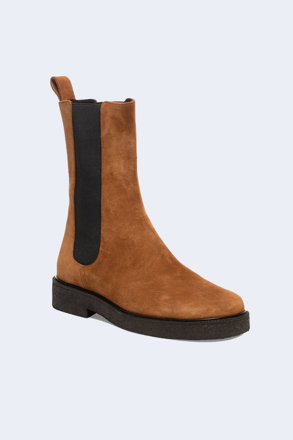 Palamino Boot in Tan Black