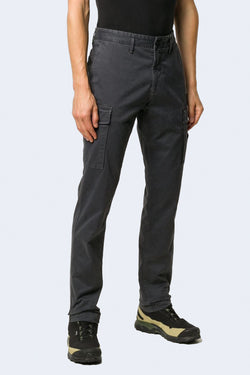 Pants with Side Pockets in Charcoal