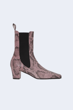 Python Print Beatles Bootie in Lilac