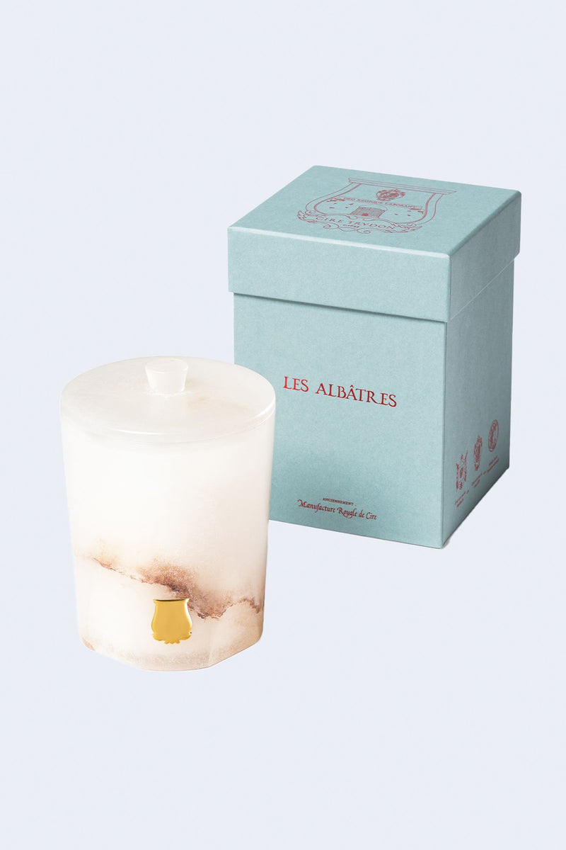 Alabaster Collection Candle in Hemera