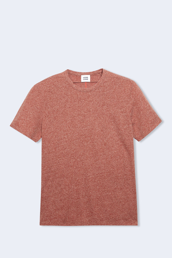 Rodger Chine T-Shirt in Brick