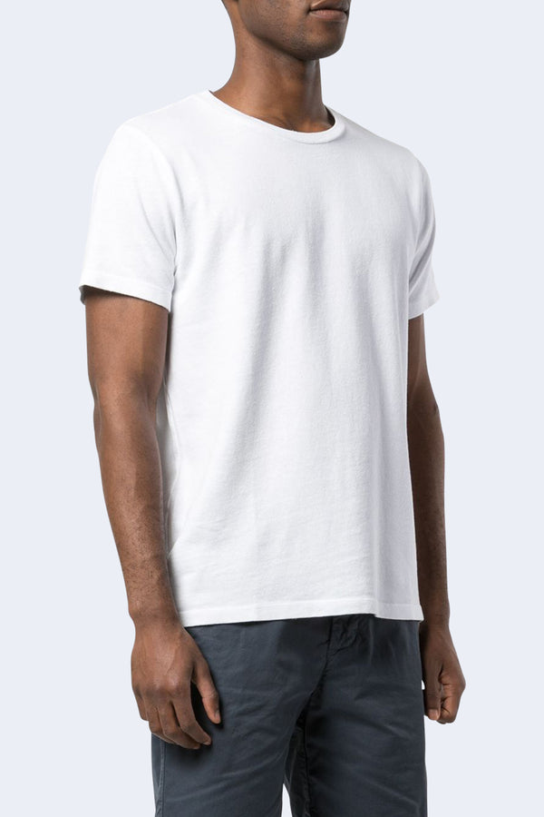 Short Sleeve Cotton Hemp Crew Tee