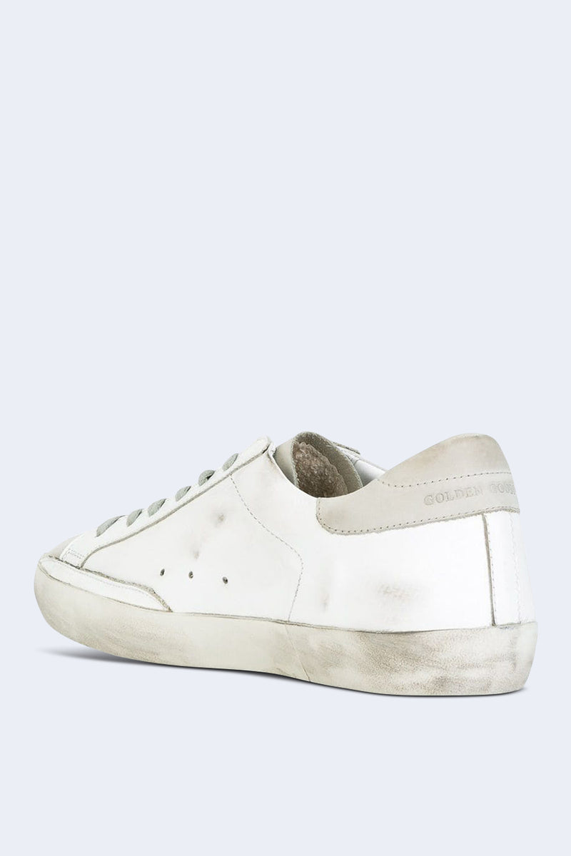 Men's Superstar White Skate Sneakers