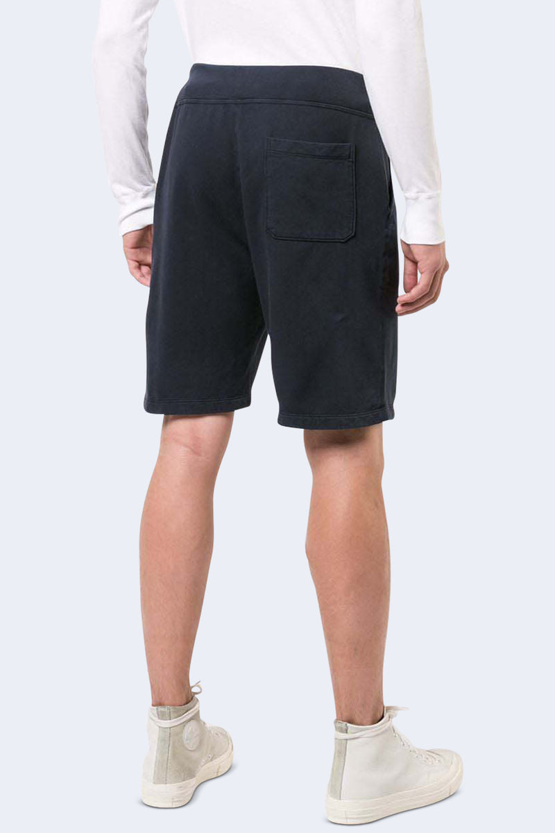 Supima Fleece Sweatshort in Navy