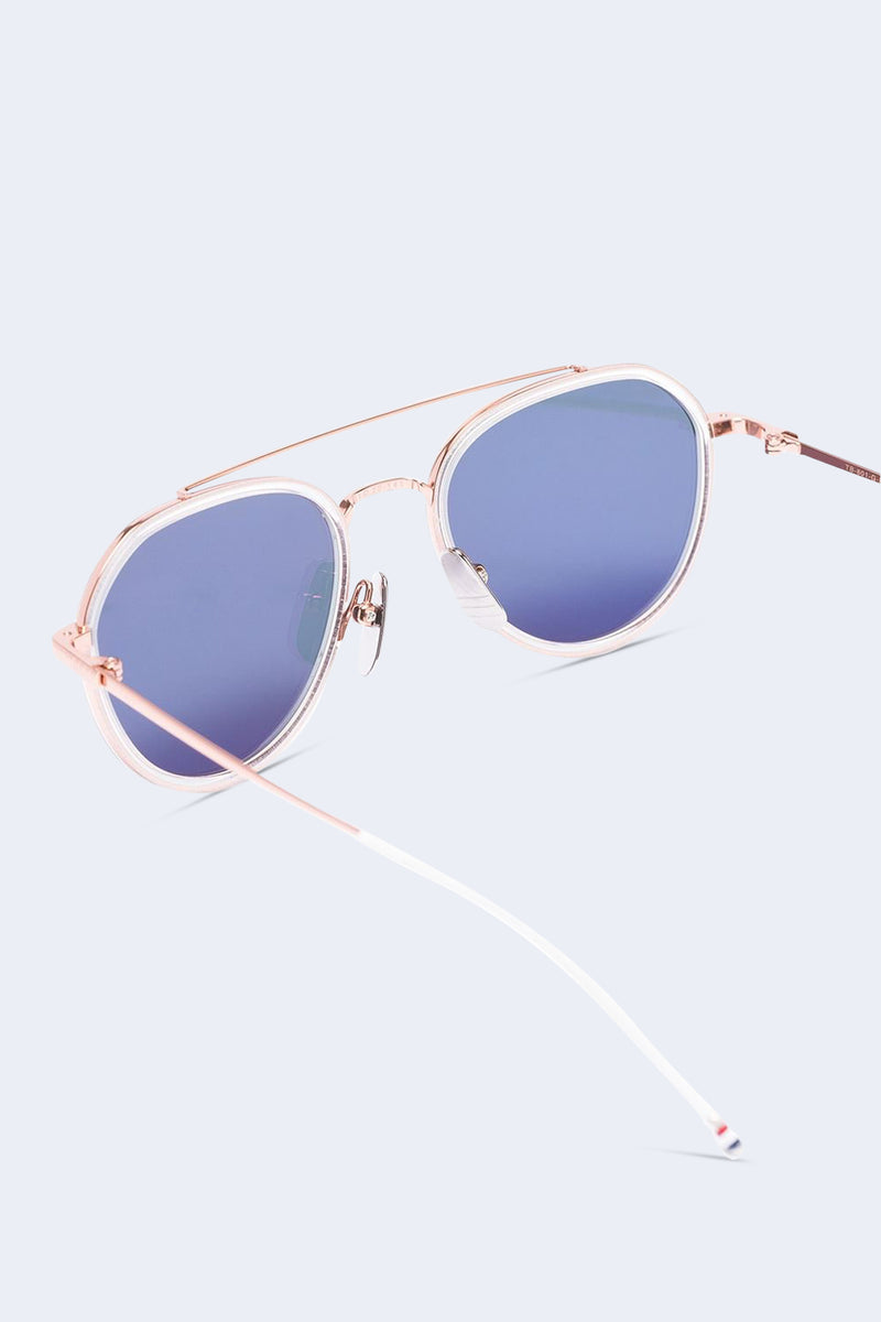 Rose Gold and Milky Gold Sunglasses