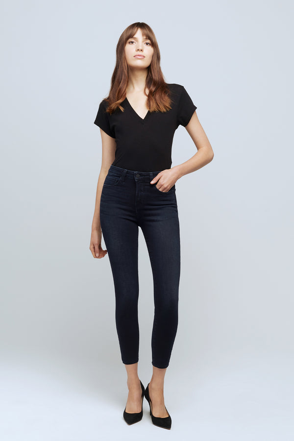 Marguerite High Rise Skinny Jean in Everette