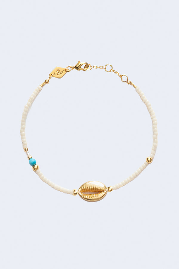 Wave Chaser Sunset Nomads Bracelet in Cream