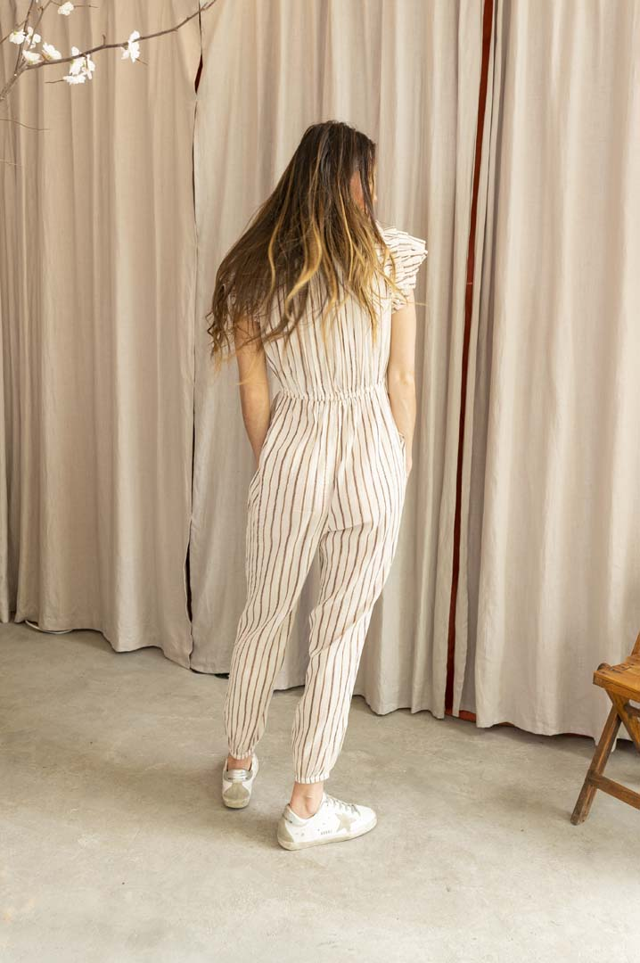 Elio Sleeveless Jumpsuit