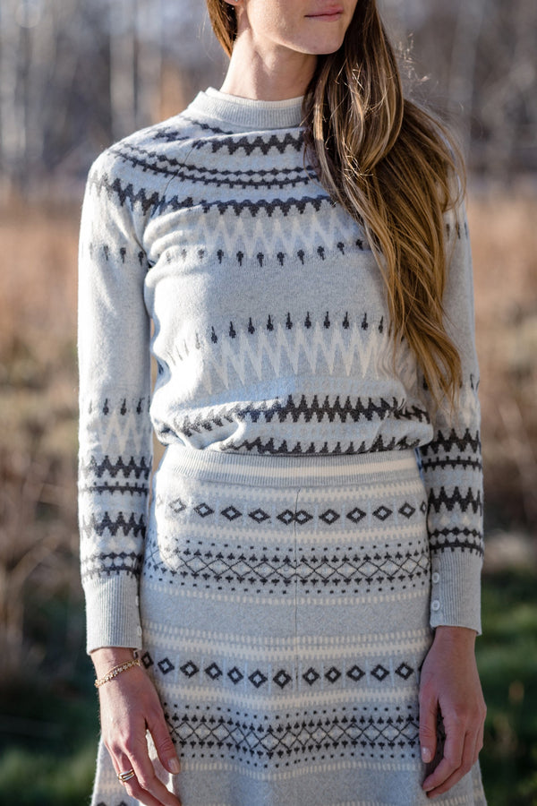 Fairisle Crewneck Sweater