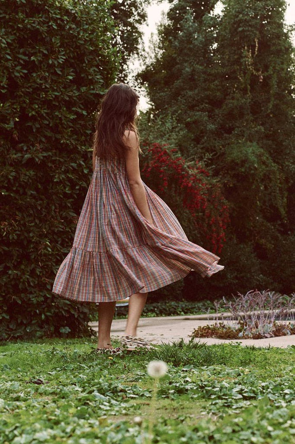 The Dainty Dress in Midsummer Plaid