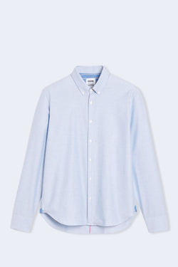 Tokyo Oxford Button Down Shirt in Light Blue