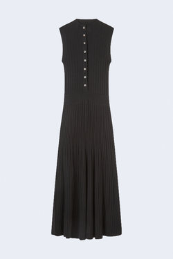 Arborea Sleeveless Dress in Black