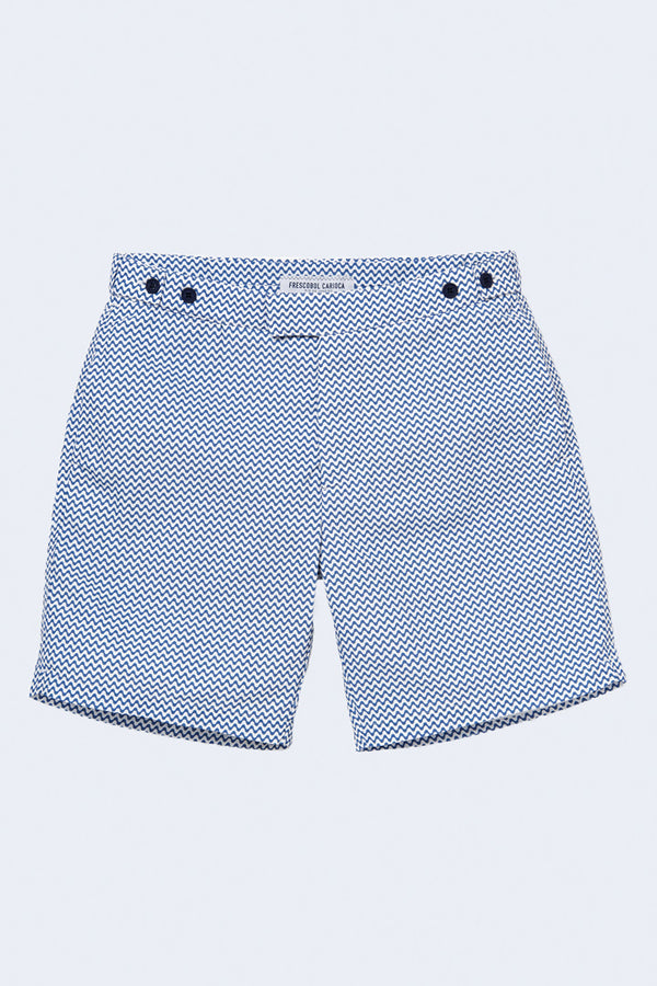 Tailored Copacabana Swim Short in Slate Blue