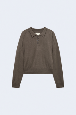 Forana Cashmere Top in Taupe