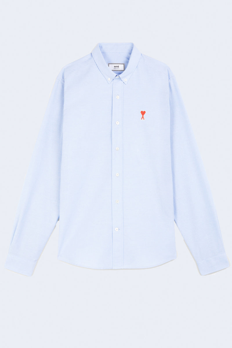 Button Down Ami De Coeur Shirt in Light Blue
