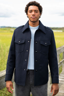 Vale Jacket in Navy