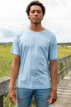 Habsa T-Shirt in Light Blue
