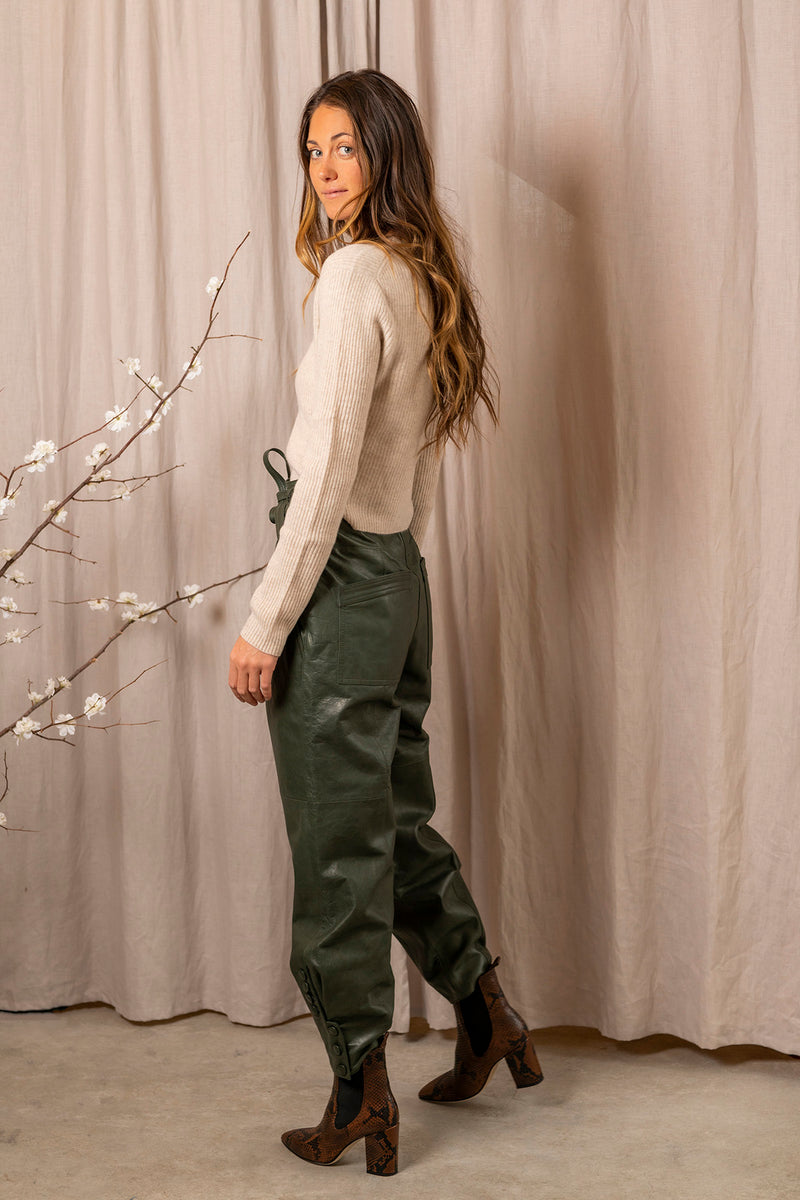 Navona Pant in Forest