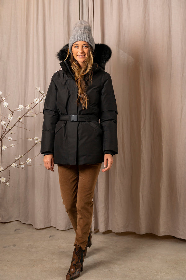 Women's Holly Arctic Parka in Black