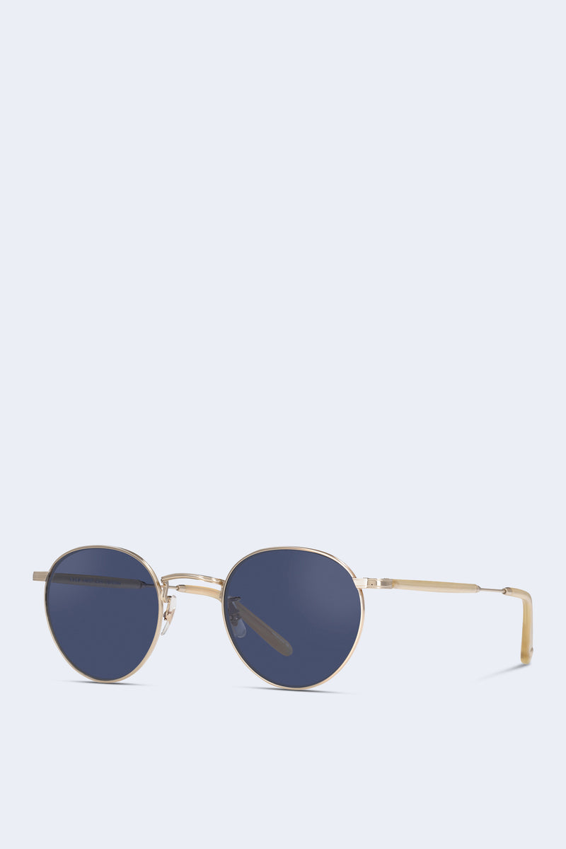 Wilson Sunglasses in Gold Toffee