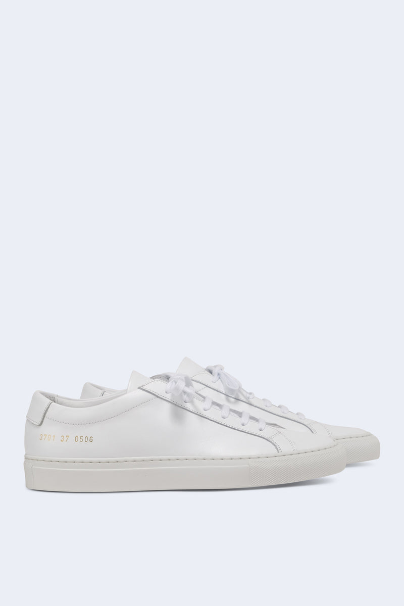 Women's Original Achilles Leather Low Sneaker in White
