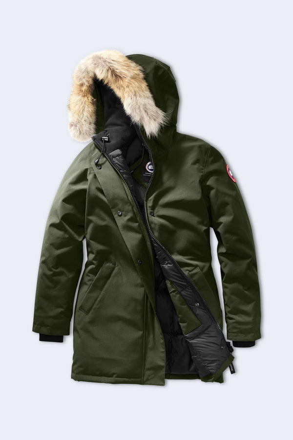 Women's Victoria Parka in Military Green