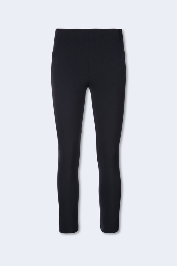 Zip Back Scuba Pant in Navy