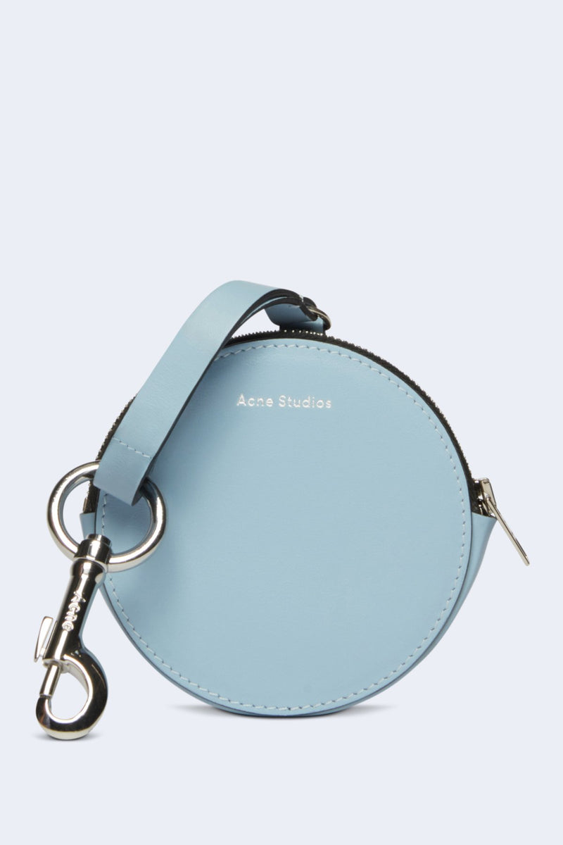 Ania Coin Purse in Light Blue & Black