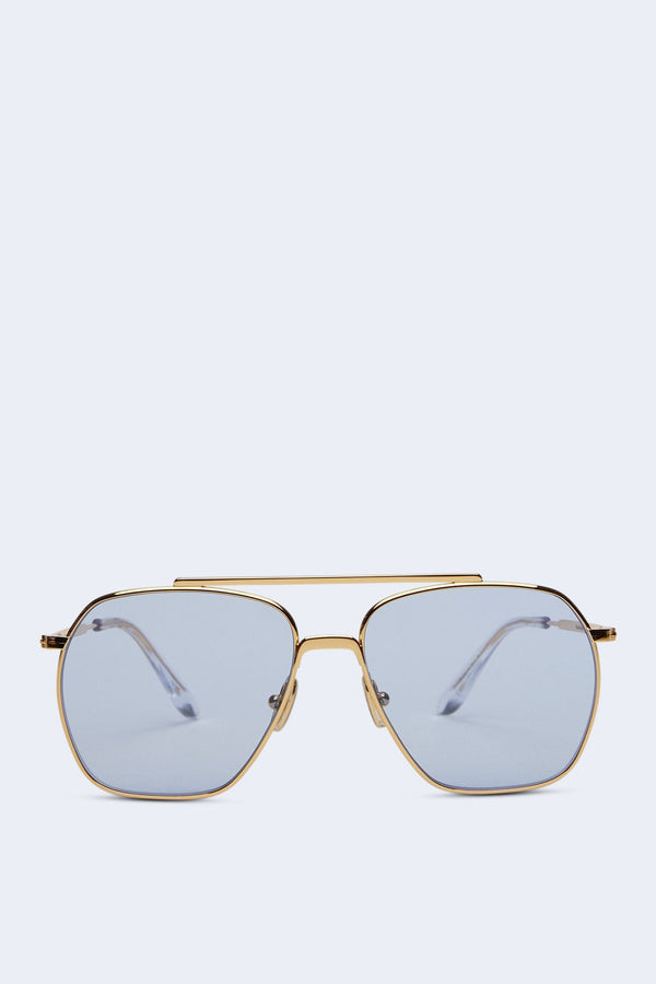 Anteom Sunglasses in Gold Blue