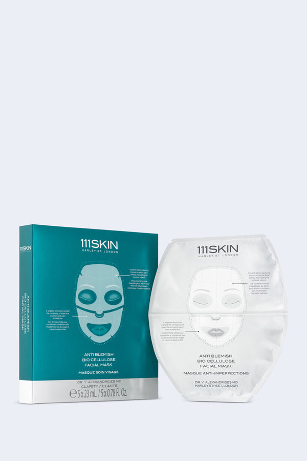 Anti Blemish Bio Cellulose Facial Single Mask