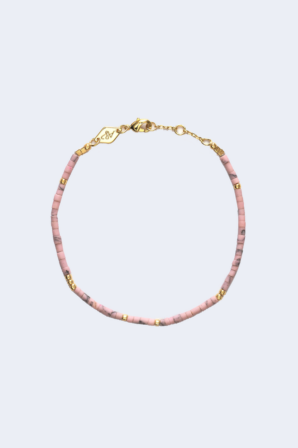 Cloudy Bay Sun Stalker Bracelet in Apricot Wash