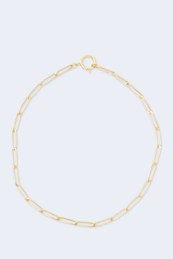 Ashley Gold-Plated Chain Necklace