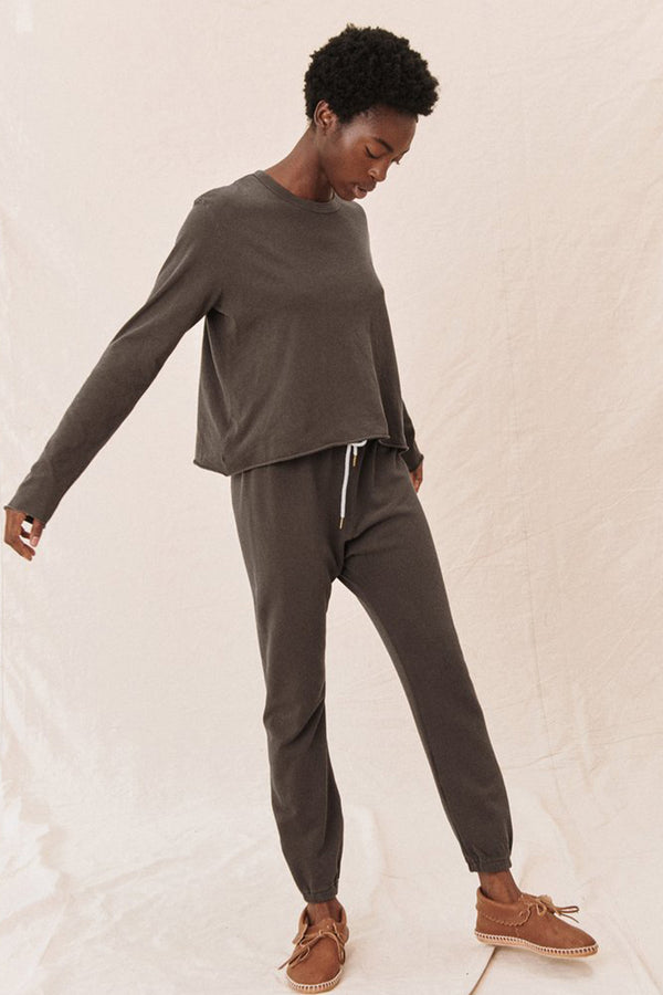 The Stadium Sweatpant in Chestnut