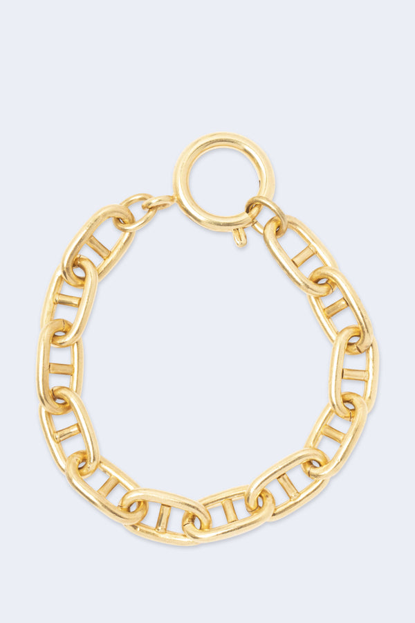 Bella Gold Plated Chain Bracelet